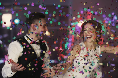 festa serale matrimonio